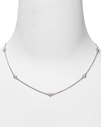"Crislu - Station Chain Necklace, 16"""