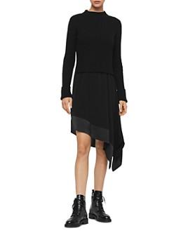 ALLSAINTS - Elina Two-Piece Slip Dress
