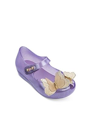 Mini Melissa Girls\\\' Ultragirl Fly Iii Mary-Jane Flats - Walker, Toddler