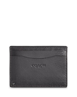 COACH - Leather Swivel Card Case