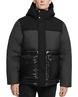 WOOLRICH - Intarsia Mountain Down Jacket