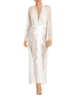 Jonquil - Lace Long Robe