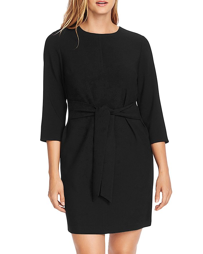 VINCE CAMUTO - Tie-Front Dress