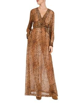 Gerard Darel - Dayana Leopard-Print Maxi Dress