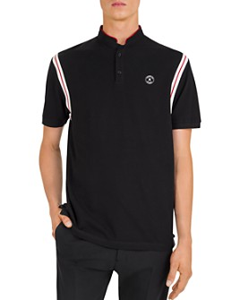 The Kooples - Contrast-Stripe Piqué Regular Fit Polo Shirt