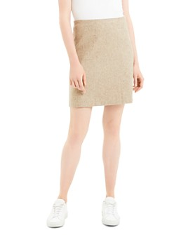 Theory - Wool Blend Mini Skirt