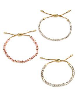 BAUBLEBAR - Lustre Adjustable Bracelets, Set of 3