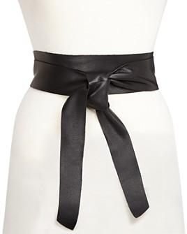 B-low the Belt - Women's Demi Leather Wrap Belt