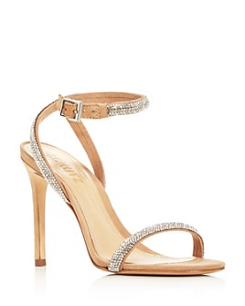 SCHUTZ - Women's Mulan Embellished High-Heel Sandals