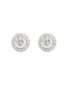 Lightbox Jewelry - Halo Lab-Grown Diamond Stud Earrings
