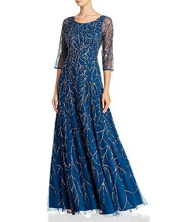 Aidan Mattox - Sequin Vine Gown