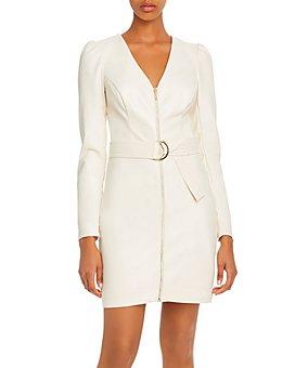 GUESS - Josette Faux Leather Dress