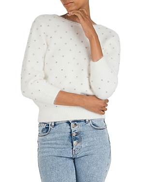 Ba&sh Sweaters BA & SH AMBY EMBELLISHED SWEATER