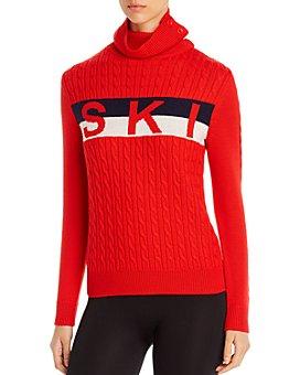 Perfect Moment - Super Striped Merino Wool Sweater