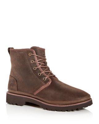 Harkley Waterproof Nubuck Leather Boots