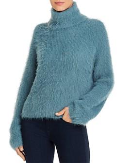 Vero Moda - Fuzzy Turtleneck Sweater