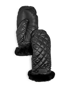 UGG® - Women's Quilted Performance Shearling Cuff Mittens