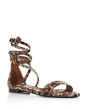 Tabitha Simmons - Women's Nellie Leopard-Print Sandals