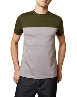 Ted Baker - Tospice Colorblocked Slim Fit Short-Sleeve Tee - 100% Exclusive