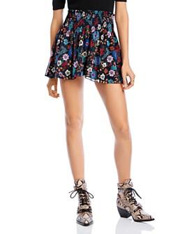 LINI - Lyla Floral Mini Skirt - 100% Exclusive
