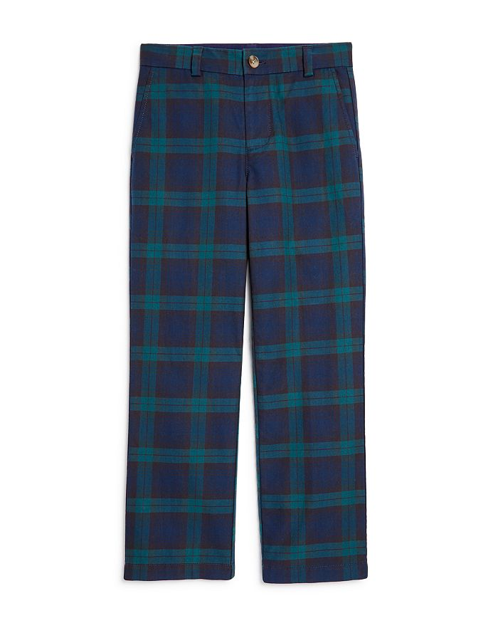 Vineyard Vines - Boys' Plaid Breaker Pants - Little Kid, Big Kid