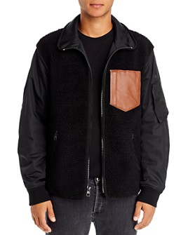 COACH - Fleece MA1 Regular Fit Jacket