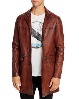 John Varvatos Collection - x Led Zeppelin Sheepskin Regular Fit Coat