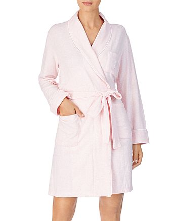 Ralph Lauren - Brushed Knit Short Robe