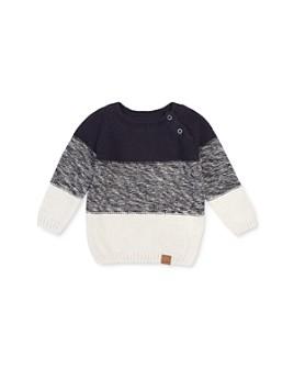Miles Child - Boys' Striped Color-Block Sweater - Little Kid