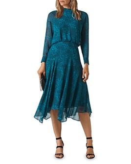 Whistles - Carlotta Big Cat Printed Dress