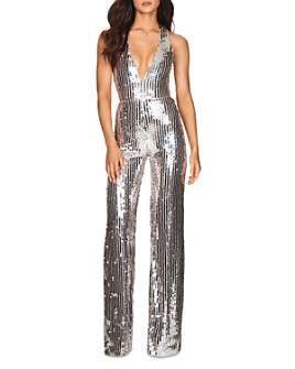 Nookie - Kylie Striped Sequin Jumpsuit