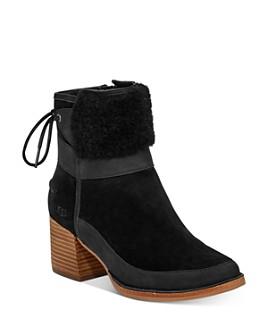 UGG® - Women's Kirke Stacked Heel Booties
