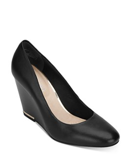 Kenneth Cole - Women's Merrick Wedge Heel Pumps