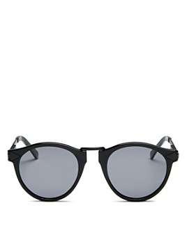 Karen Walker - Unisex Hemingway Round Sunglasses, 49mm