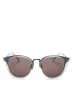 Bottega Veneta - Women's Round Sunglasses, 56mm