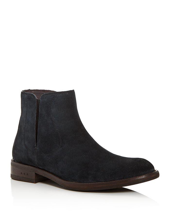 John Varvatos Star USA - Men's Waverly Suede Chelsea Boots
