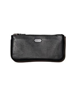 Lambertson Truex - Medium Pebbled Leather Zip Pouch