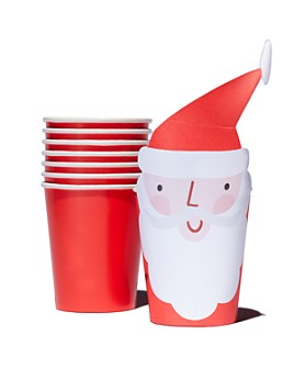 Meri Meri - Santa Party Cups, Pack of 8