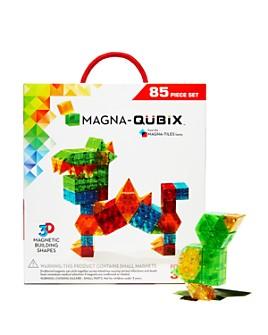 Magna-tiles - Magna-Qubix® 85-Piece Building Set - Ages 3+