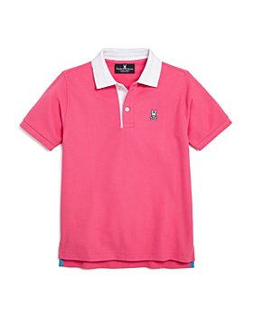 Psycho Bunny - Boys' Tamerton Contrast-Collar Polo Shirt - Little Kid, Big Kid