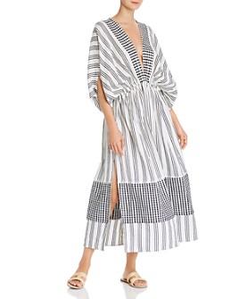 Lemlem - Tigist Plunging Maxi Dress