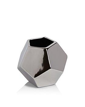 Global Views - Faceted Medium Vase