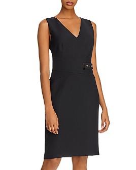 Donna Karan - Belted Sheath Dress