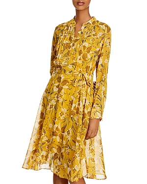 Nanette Lepore Dresses NANETTE NANETTE LEPORE PLEATED SHIRT DRESS