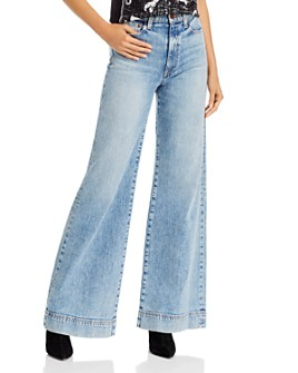 Alice and Olivia - Gorgeous Trouser Wide-Leg Jeans in Last Call