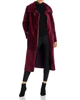 Nour Hammour - Roxanne Real Sheep Shearling Coat