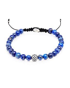 Degs & Sal - Sterling Silver & Lapis Beaded Bracelet