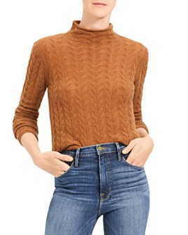Theory - Cable-Knit Cashmere Sweater