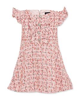 Bardot Junior - Girls' Lizzie Off-the-Shoulder Bouclé Dress - Big Kid