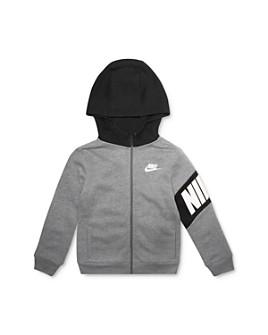 Nike - Boys' Core Hybrid Zip-Up Hoodie - Little Kid